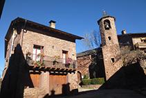 Església parroquial de Sant Martí de Llagunes, situada al centre de Llagunes.
