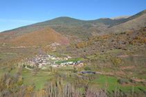 Llagunes i la vall de Siarb.