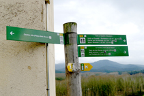 Senyalització vertical que ens acompanyarà durant tota la passejada.