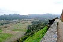 Vistes des del castell (fora de ruta).