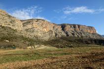 Vista de la canal dels Escaligots.