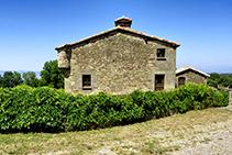 La masia de Monteis.