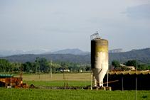 Sitja per emmagatzemar cereals o farratge pel bestiar.